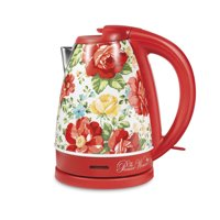 The Pioneer Woman Electric Kettle, Vintage Floral, 1.7-Liter