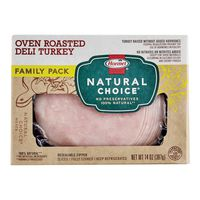 Hormel Natural Choice Oven Roasted Deli Turkey Family Pack