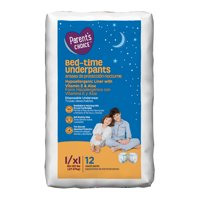 Parent's Choice Bed-Time Pull Up Underpants, L/XL, 12 Count