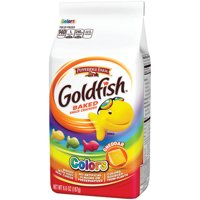 Pepperidge Farm Goldfish Colors Cheddar Crackers, 6.6 oz. Bag