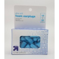 Ultra Soft Foam Ear Plugs 12 pair - Up&Up™