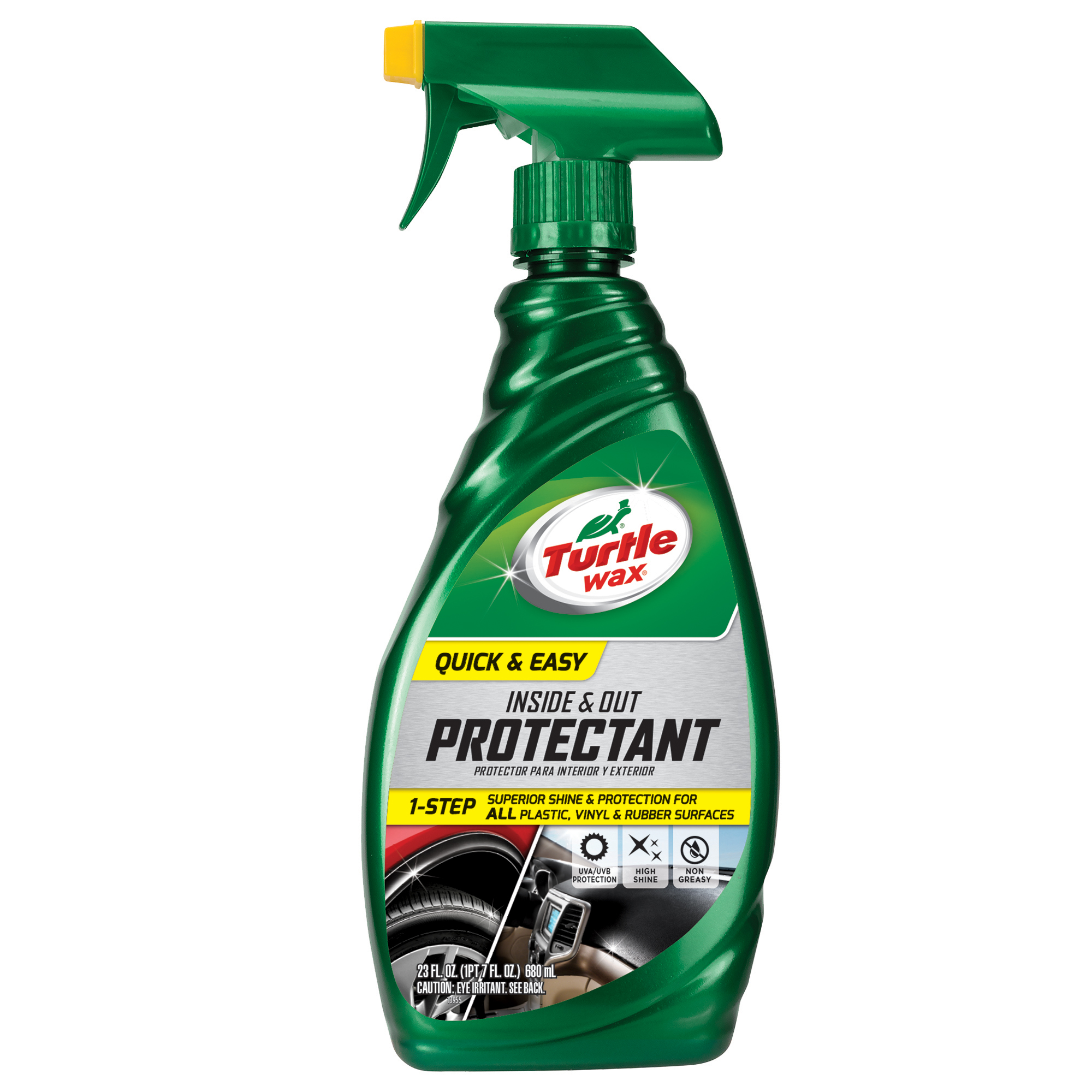 Turtle Wax 50802 Quick and Easy Inside and Out Protectant, 23 oz
