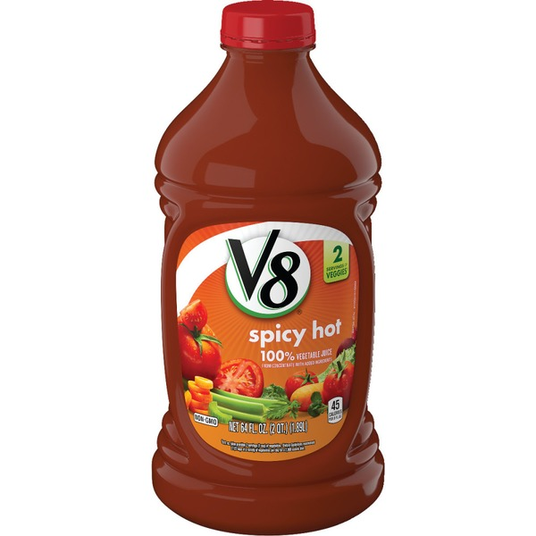 V8® Spicy Hot 100% Vegetable Juice