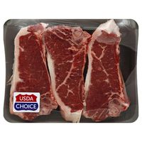 Vons Steak, Top Loin, New York Strip, Value Pack