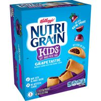 Kellogg's Nutri-Grain Kids Soft Baked Mini Bars Grapetastic