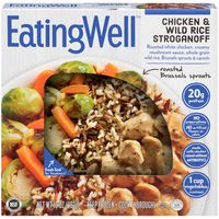 Eatingwell Chicken & Wild Rice Stroganoff