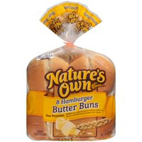 Nature's Own® Hamburger Butter Buns 16 oz. Bag
