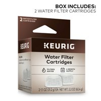 Keurig® 2-Pack Water Filter Refill Cartridges, 2 count, For use with Keurig 2.0 and 1.0/Classic K-Cup Pod Coffee Makers