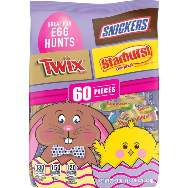 Mars Chocolate Easter Candy Variety Mix Pieces
