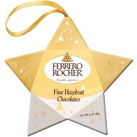 Ferrero Rocher Christmas Star - 1.3oz / 3ct