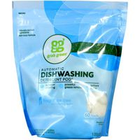 Grab Green Automatic Dishwashing Detergent Pods, Fragrance Free