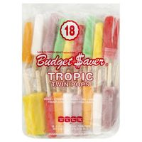 Budget Saver Twin Pops, Tropic