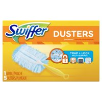 Swiffer Duster Short Handle Starter Kit, 1 Handle, 5 Dusters