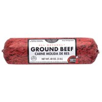 All Natural* 73% Lean/27% Fat Ground Beef Roll, 3 lb