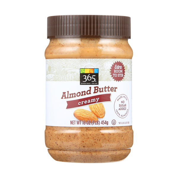 365 everyday value® Creamy Almond Butter, 16 oz