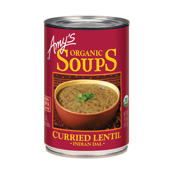 Amy's kitchen Curried Lentil Soup, 14.5 oz