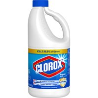 Clorox Regular Liquid Bleach, 64 oz Bottle