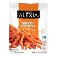 Alexia Sweet Potato Fries with Sea Salt, Non-GMO Ingredients, 20 oz (Frozen)