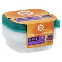 Signature Select 5 Tight Seal Disposable Containers & Lids