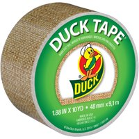 "Duck Brand 1.88"" Burlap Printed Duct Tape, 1 Each, 10 Yds"