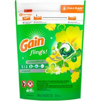 Gain flings! Liquid Laundry Detergent Pacs, Original