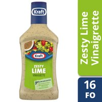 Kraft Zesty Lime Vinaigrette Dressing, 16 fl oz Bottle