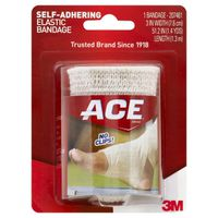 Ace Bandage, Self-Adhering, Elastic