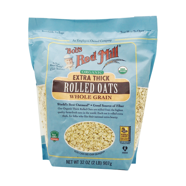 Bob's red mill Organic Extra Thick Rolled Oats, 32 oz