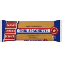 Skinner Thin Spaghetti Pasta, 24-Ounce Bag