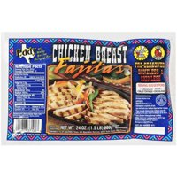 Eddy Boneless & Skinless Pre-Seasoned Chicken Breast Fajitas, 24 oz