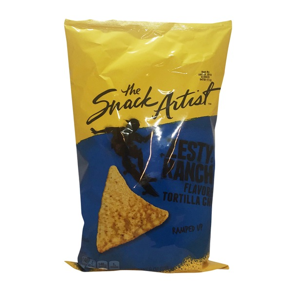 Signature Select Zesty Ranch Flavored Tortilla Chips