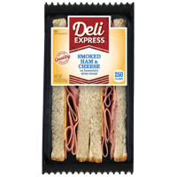 Deli Express Smoked Ham & Cheese Sandwich