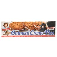 Little Debbie Oatmeal Creme Pies 12 Ct, 16.2 Oz