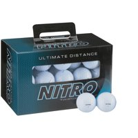 Nitro Golf Ultimate Distance Golf Balls, 45 Pack