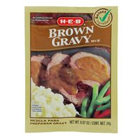 H-E-B Brown Gravy Mix