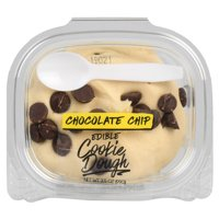 Wal-mart Bakery Chocolate Chip Edible Cookie Dough
