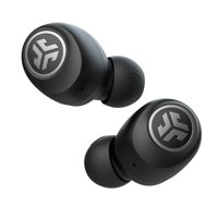 JLab Audio Go Air True Wireless Earbuds +Charging Case | Black | Dual Connect | IP44 Sweat Resistance | Bluetooth 5.0 Connection | 3 EQ Sound Settings: JLab Signature, Balanced, Bass Boost