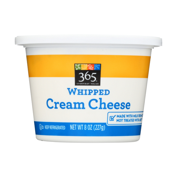 365 everyday value® Whipped Cream Cheese, 8 Oz.