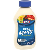 Kraft Real Mayonnaise Squeeze Bottle 12oz