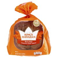 King's Hawaiian Round Hawaiian Sweet Bread, 16 oz
