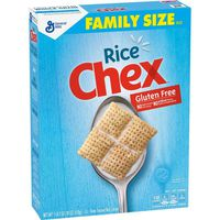 Rice Chex Rice Cereal, Gluten, Free, Oven Toasted, Family Size