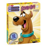 Betty Crocker Fruit Snacks, Scooby Doo Snacks, 10 Pouches, 0.8 oz Each