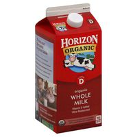 Horizon Organic Whole High Vitamin D Milk
