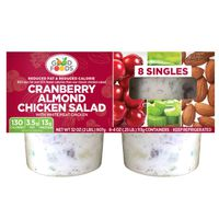 Good Foods Cranberry Almond Chicken Salad Singles, 8 x 4 oz