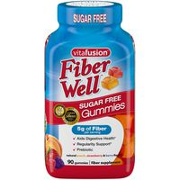 VitaFusion Fiber Well Gummies Sugar Free - 90 CT