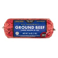 90% Lean/10% Fat, Ground Beef Roll, 1lb