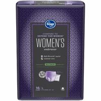 Kroger Large Women's Maximum Absorbency Underwear