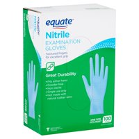 Equate Nitrile Examination Gloves, 100 count