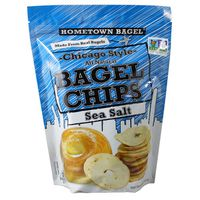 Hometown Bagel Chicago Style Bagel Chips Sea Salt