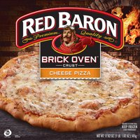 Red Baron® Brick Oven™ Crust Cheese Pizza, 17.82 oz Box